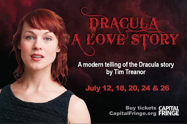 Dracula postcard front image