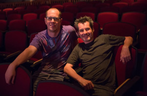 Jay Hardee and Christopher Henley, co-directors of Dracula . A Love Story