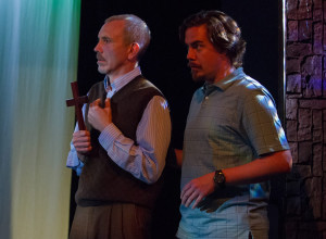 Brian Crane as Will Cervas and Joe Brack as Jack Klaxon (Photo: Teresa Wood)