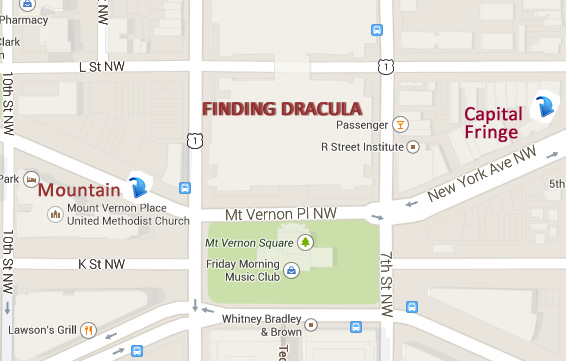finding dracula map