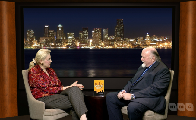 Christine Warnke interviews me. We are not on a boat.